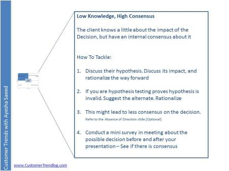 Low Knowledge, High Consensus